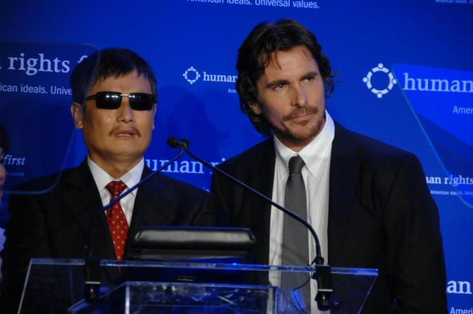 Chen Guangcheng Raises his Family's Safety at the 2012 Human Rights First Award Dinner