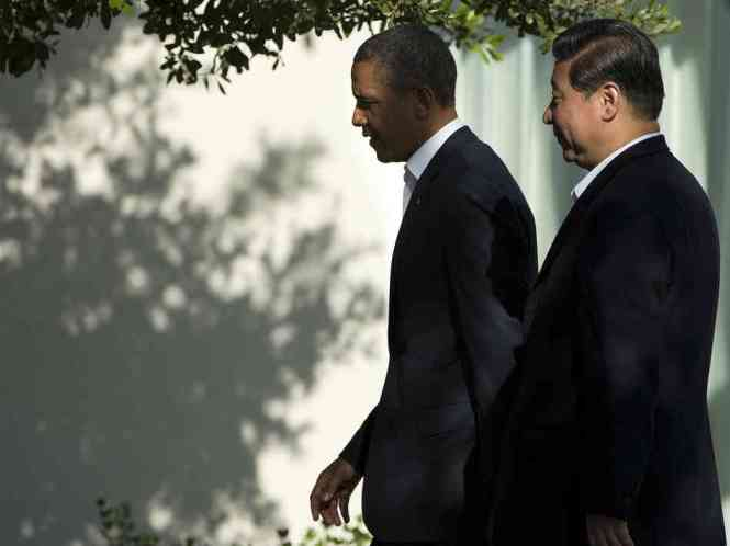Presidents Barack Obama and Xi Jinping at the U.S.-China Summit  (June 7-8)