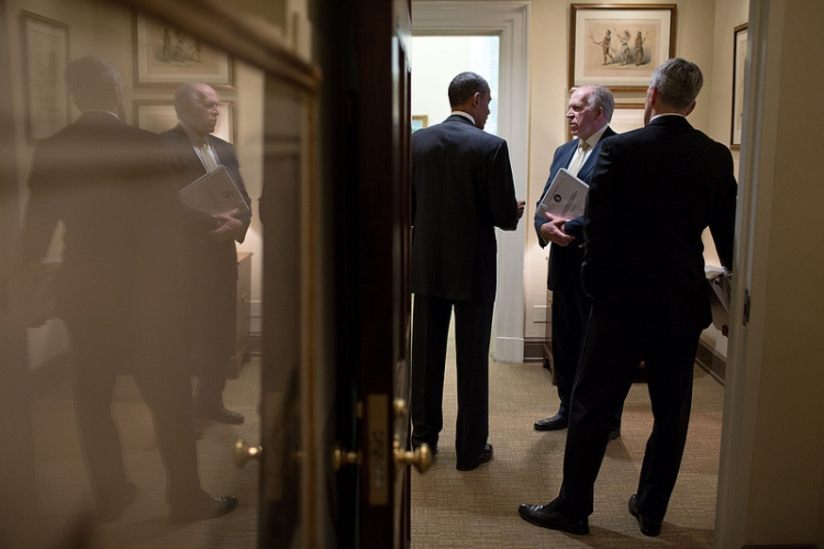 Obama, Brennan at the White House